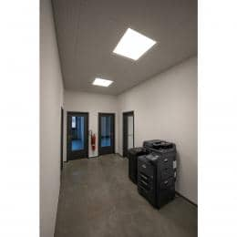 LED PANEL 600x600 Indoor LED incasso a plafone bianco 3000K UGR<19